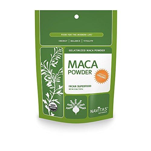 Navitas Naturals bio Maca gélatinisée poudre, 4 onces