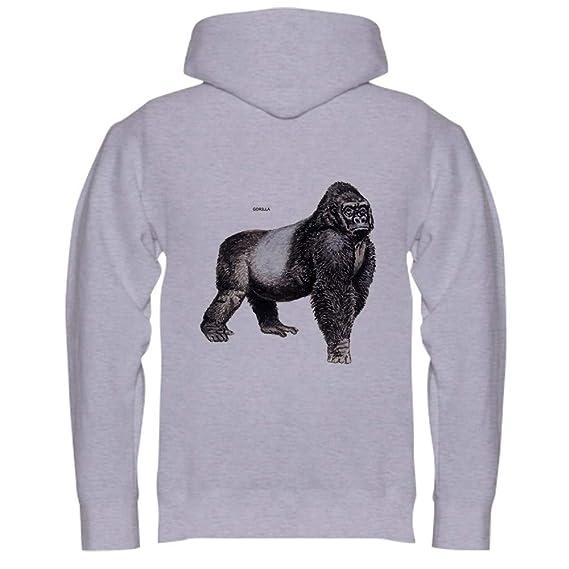 01926587f493 Amazon.com  CafePress Gorilla Ape Animal Sweatshirt  Clothing