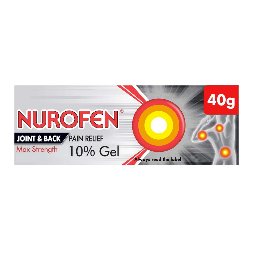 Nurofen Gel Joint and Back Ibuprofen, 40g
