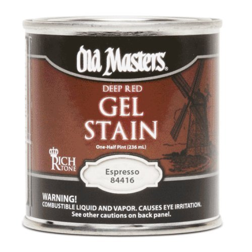 Old Masters 84416 Gel Stain, Expresso, 1/2 - Spray Paint Expresso