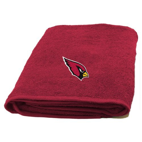 Northwest NFL 929 Applique Beach Arizona Cardinals Bath Towel