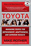 img - for Toyota Kata: Managing People for Improvement, Adaptiveness and Superior Results book / textbook / text book