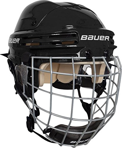 Casco de Hockey sobre Hielo Talla M Bauer Helm 4500 Combo mit Gitter Color Negro