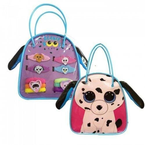 [TY Beanie Boo Hair Accessory Bag Set Fetch the Dalmatian] (Boo Baby Costume)