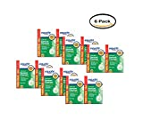 PACK OF 6 - Equate Antibacterial Mint Fresh Denture Cleanser Tablets, 240 Ct