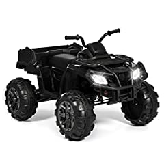 Ride on, little racer! Perfect for young explorers looking to get a taste of adventure, this ride-on XL ATV works and feels just like the real thing. The outdoors awaits: get some grass in the treads of those traction wheels and conquer your ...