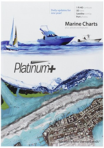 Navionics Platinum Plus 632P Central and South Florida Marine Chart on SD MSD