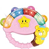 Baby Bear Bell Toy with Music Song Light(colors may vary pink/green/yellow