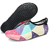 #7: Barerun Barefoot Quick-Dry Water Sports Shoes Aqua Socks for Swim Beach Pool Surf Yoga for Women Men