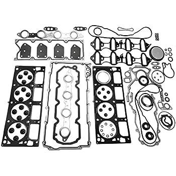 200 ITM Engine Components 09-12738 Cylinder Head Gasket Set for 2011-2016 Chrysler//Dodge//Jeep//RAM//VW 3.6L V6 3604cc 220 CID 300 1 Pack