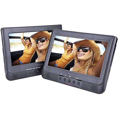 Proscan/Sylvania PDVD1037/SDVD1037 10.1-Inch Dual Screen Portable DVD Player (Renewed)