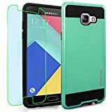 Samsung Galaxy A5 (2016) / A510F Case, INNOVAA Elite Hybrid Series Case (Not Compatible with Samsung Galaxy A5 (2015)) W/ Free Screen Protector & Touch Screen Stylus Pen - Teal