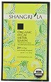 Shangri La Tea Company Organic Tea Bags, Meyer Lemon Decaf, 20 Count (Pack of 6)