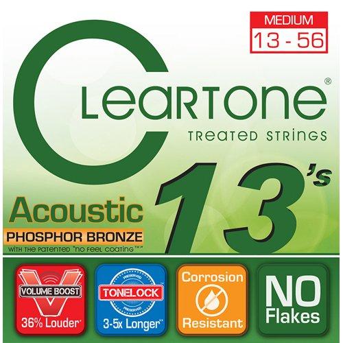 (Cleartone Acoustic.013-.056 Medium)