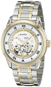 Bulova Men's 98A123 BVA-SERIES Two-Tone Stainless Steel Automatic Bracelet Watch