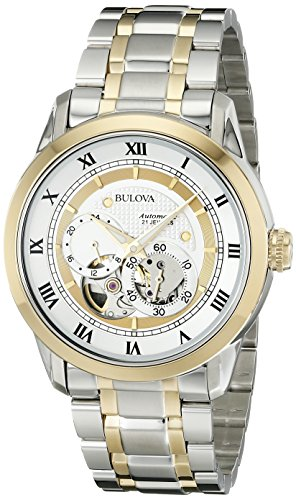 Bulova Men's 98A123 BVA-SERIES Two-Tone Stainless Steel Automatic Bracelet Watch