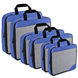 Compression Packing Cubes Travel Organizer (6) Set