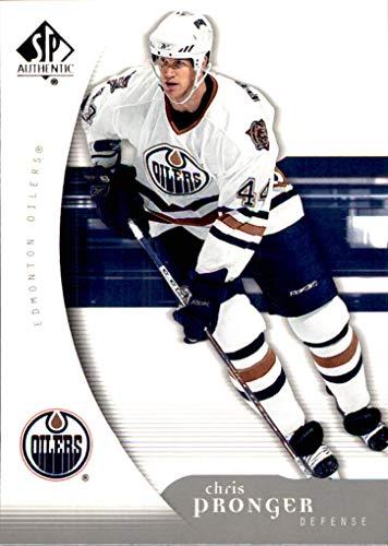 2005-06 SP Authentic #39 Chris Pronger EDMONTON OILERS