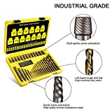 Topec 35-Piece Screw Extractor and Drill Bit