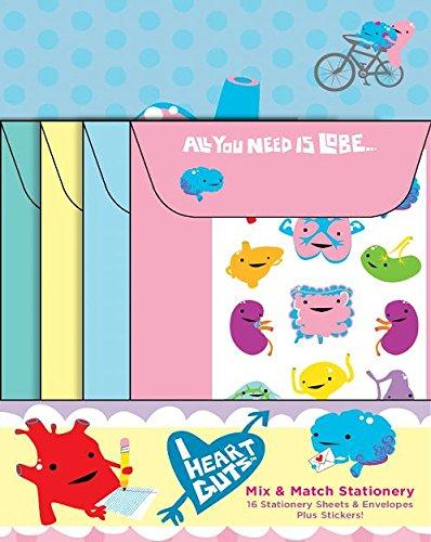 Mix & Match Stationery: I Heart Guts