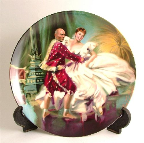 Knowles The King and I series Shall We Dance by William Chambers CP132 by Bradford Exchange
