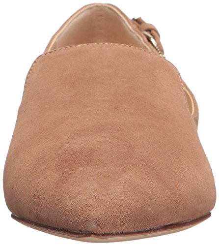 comfortable cheap price Nine West Women's Andsey Suede Loafer Flat Natural free shipping very cheap high quality for sale chHU2OLt