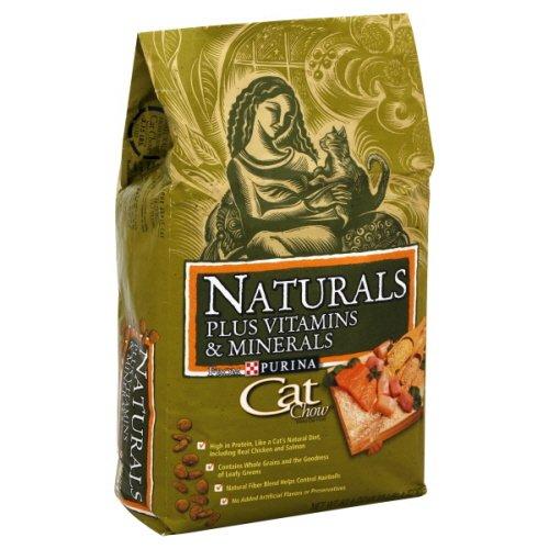 Cat Chow Naturals Cat Food, Plus Vitamins and Minerals, 3.15 Lb., My Pet Supplies