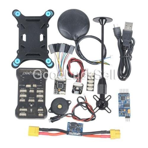 US Pixhawk PX4 2.4.6 32bit ARM Flight Controller NEO-6M GPS OSD PPM Power Stock by Gerneric (Image #1)