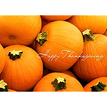 Amazon thanksgiving greeting card th9004 office products thanksgiving greeting cards th1504 business greeting card featuring bright orange pumpkins box set reheart Image collections