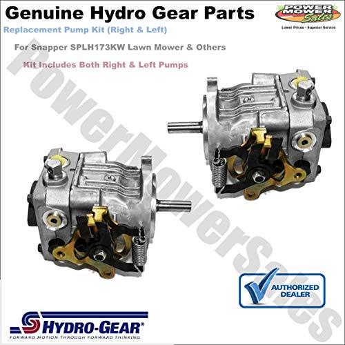 FS Fahm Hydro Gear Right, Left Pumps Snapper & Other PG-1KCC-DY1X-XXXX PG-1HCC-DY1X-XXXX