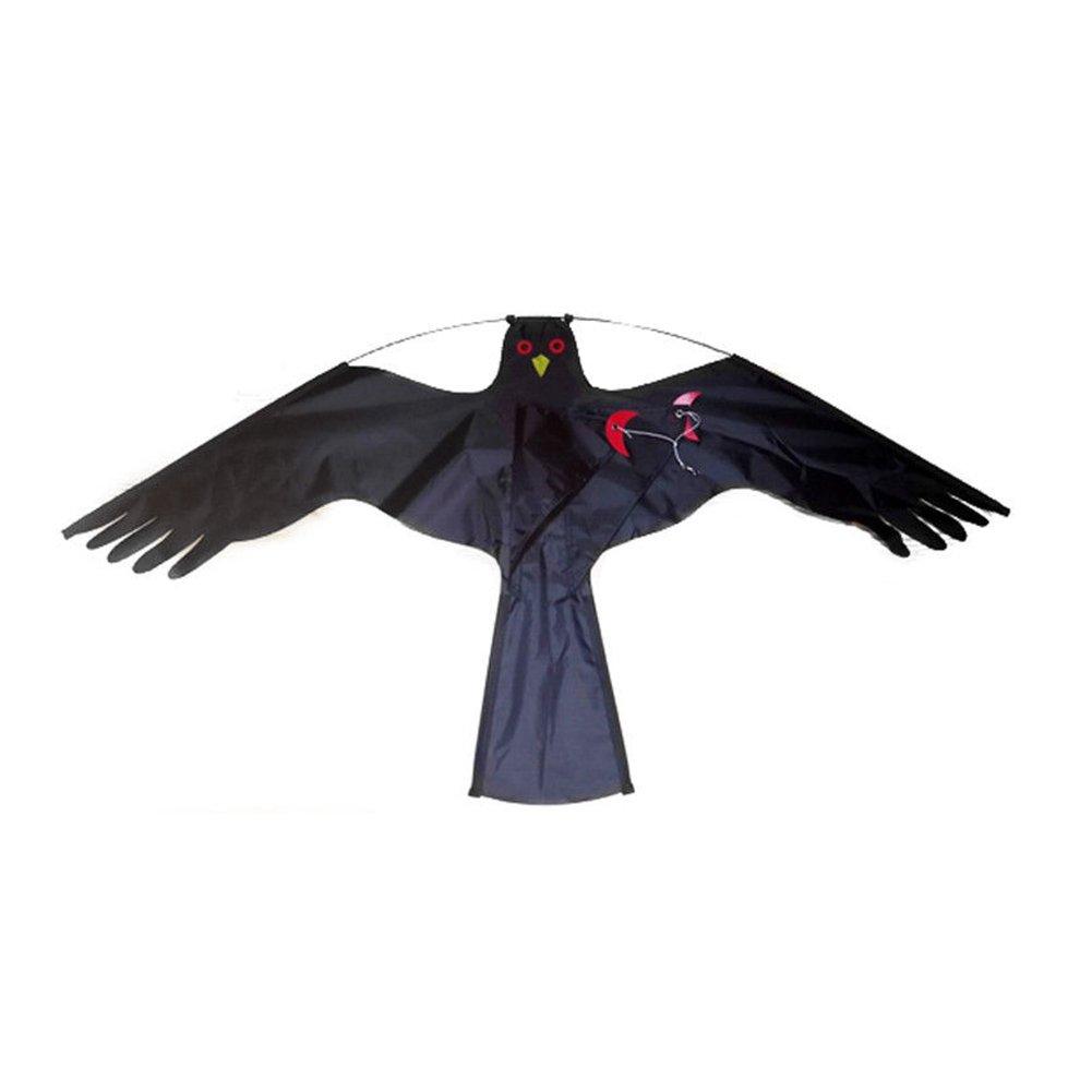 Symboat Oiseau Scarer Répulsif Flying Hawk Kite Kit pour Jardin Scarecrow Yard Maison Décoration