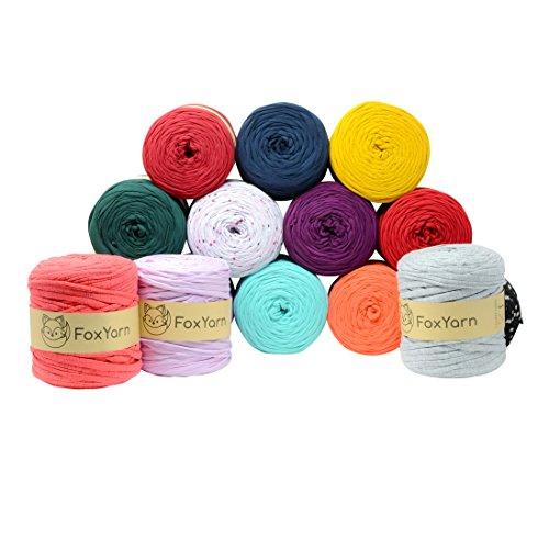 T-shirt Yarn cotton Fettuccini Zpagetti highest quality ~ 1.4 lbs (700g) and 140 yard long (~120 meter) Sewing Knitting Crochet T shirt Yarn (Turmeric) Click for More Colors