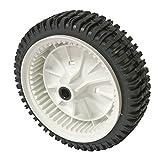 Craftsman 532180773 Lawn Mower Wheel, Front Genuine Original Equipment Manufacturer (OEM) Part for Craftsman & Poulan