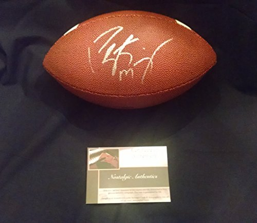 Peyton Autograph Manning Football (Peyton Manning signed autographed official size Baden football Denver Broncos- Inianapolis Colts - COA - Mint Condition)