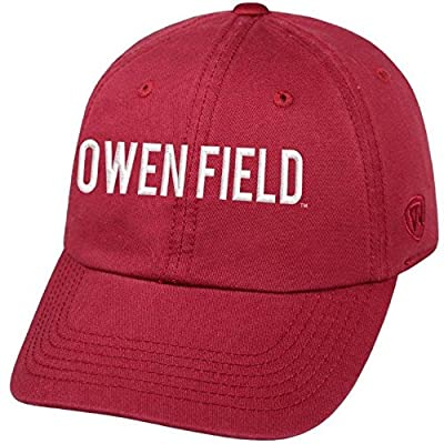 Top of the World NCAA-Oklahoma Pride-Cotton Crew-Adult Adjustable Strapback-Hat Cap from Top of the World