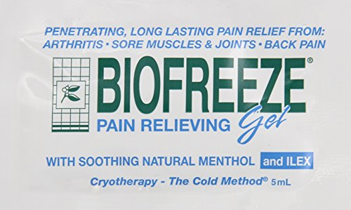Biofreeze Pain Relieving Gel - 5 gram Travel Packets