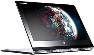 Lenovo Yoga 3 Pro 1370 Silver Laptop (80HE00FXUS) Intel Core M-5Y71, 8GB RAM, 512GB SSD, 13.3-in QHD LED, Win8.1 Pro