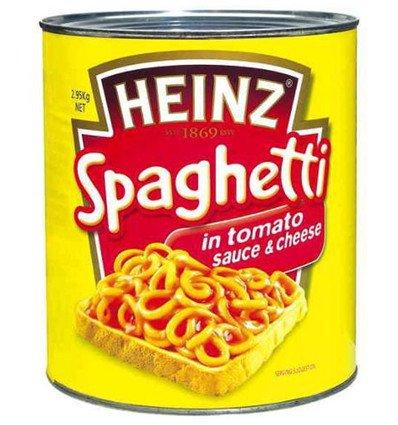 Heinz Espagueti En Salsa de Tomate 2.95 kg