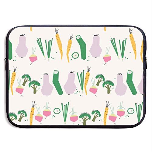 Laptop Sleeve Bag Fruits Veggie Handbag Case Computer Bag Zipper Notebook Cover 136 -