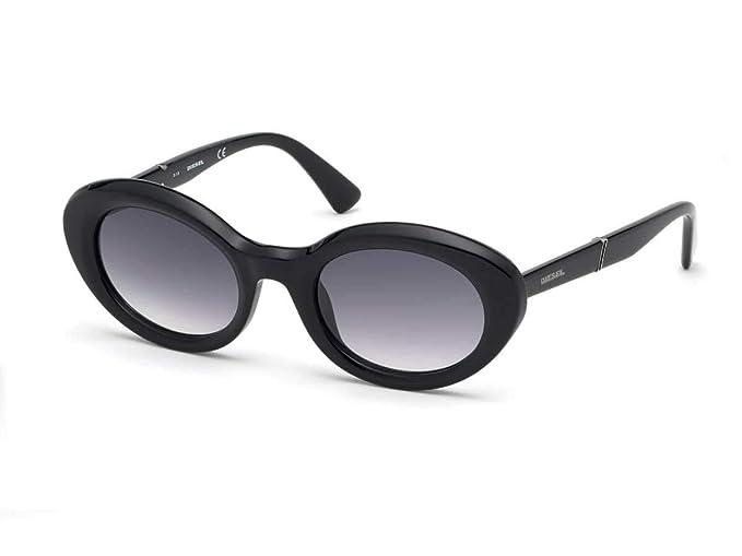 Diesel - Gafas de sol - para mujer Negro Negro brillante 46 ...