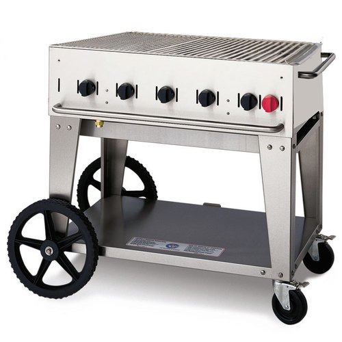 Crown Verity MCB-36 Outdoor Charbroiler - Portable by Crown Verity