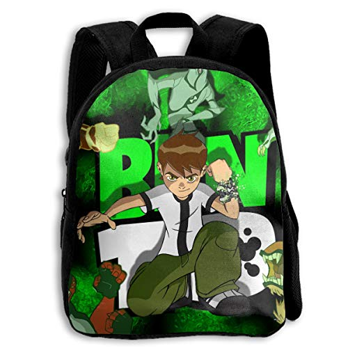 (Alien Ben-10 Kids Backpack Children Bookbag Cool School Bag For)