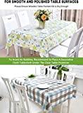 Clear Vinyl Plastic Tablecloth Large Table