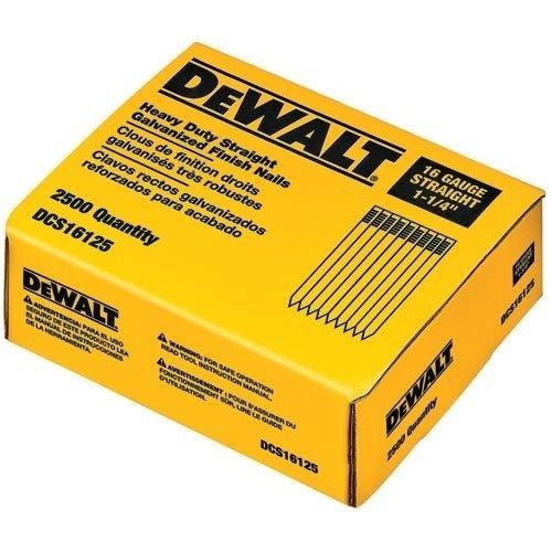 DeWalt DT9910-QZ Nägel 2500 Stück Stauchkopf Edelstahl 20° 1,6 x 32mm für DC610, DC618