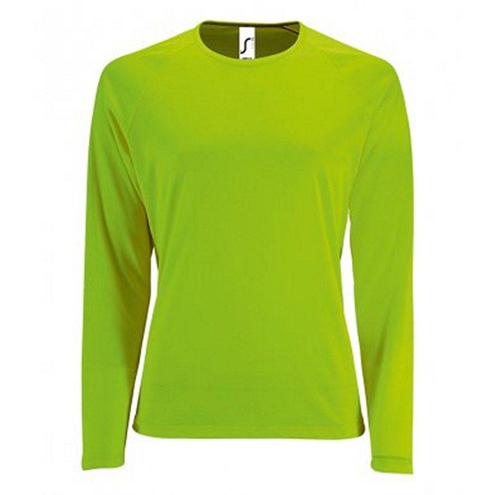 SOLS Womens//Ladies Sporty Long Sleeve Performance T-Shirt