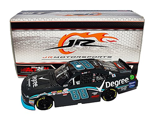 AUTOGRAPHED 2017 Dale Earnhardt Jr. #88 Degree Deodorant Racing (Xfinity Series) JR Motorsports Signed Lionel 1/24 NASCAR Collectible Diecast Car with COA (#046 of only 865 produced!) Trackside Autographs