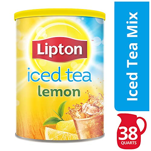 Lipton Iced Tea Mix, Lemon, 38 ()