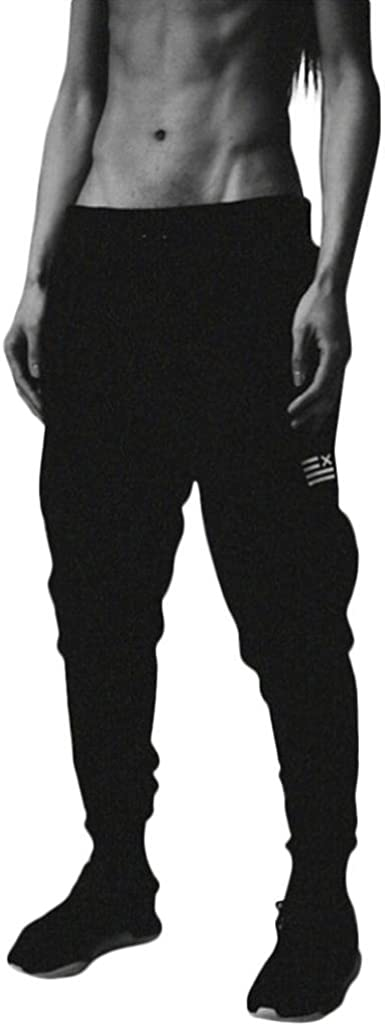 Pantalones Deportivos Hombre Pantalón Jogging Casual Algodón Sweat ...