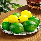 BigOtters Fake Lemons, Faux Limes Plastic