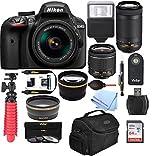 : Nikon D3400 w/ AF-P DX NIKKOR 18-55mm f/3.5-5.6G VR (Black)